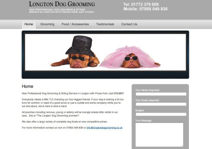 Longton Dog Grooming